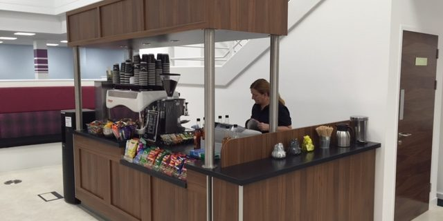 Shaping A Vehicle For A Mobile Coffee Business